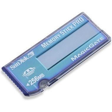 sandisk memory stick pro magicgate 256mb